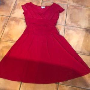 London Times red dress very cute on. Size 14